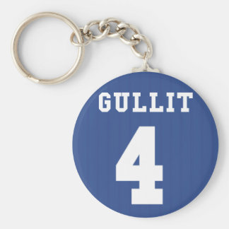 1995-97 Chelsea Home Keyring- GULLIT 4 Key Ring