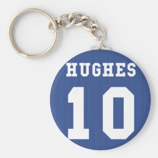 1995-97 Chelsea Home Keyring- HUGHES 10 Key Ring