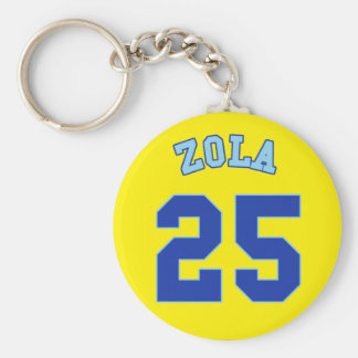 1996-98 Chelsea Away Key Ring - ZOLA 25