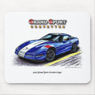 1996 Grand Sport Corvette Coupe Mouse Pad