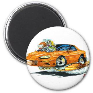 1998-02 Camaro Orange Car Magnet
