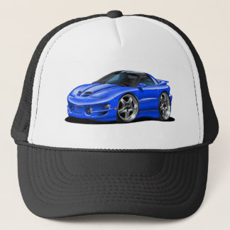 1998-02 Trans Am Blue Car Trucker Hat