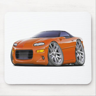 1998-2003 Camaro Orange Car Mouse Pad