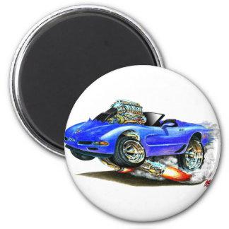 1998-2004 Corvette Blue Convertible Magnet
