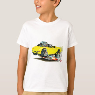 1998-2004 Corvette Yellow Convertible T-Shirt