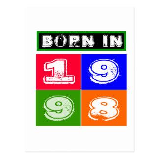 1998 Birthday Designs Postcard