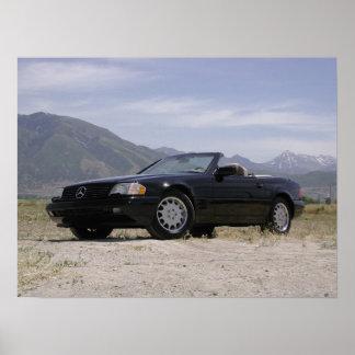 1998 Mercedes-Benz SL500 Roadster Poster