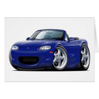 1999-05 Miata Dark Blue Car Card