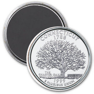 1999 Connecticut State Quarter magnet