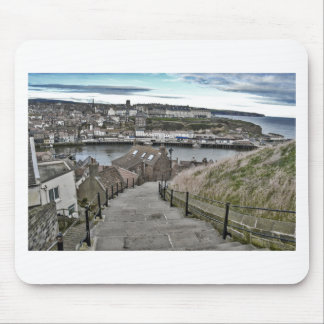 199 Steps Whitby Mouse Pad