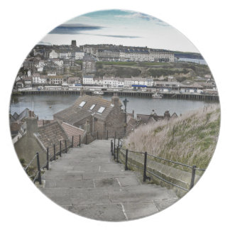 199 Steps Whitby Plate