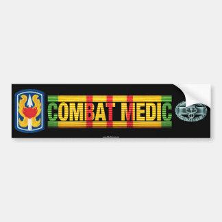 199th LIB Vietnam COMBAT MEDIC Sticker Bumper Sticker