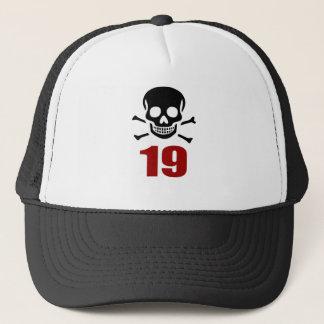 19 Birthday Designs Trucker Hat