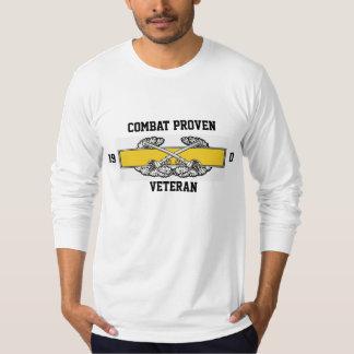, 19, D, Combat Proven, Veteran T-Shirt