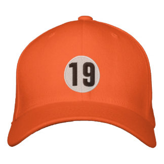 #19 Four-Sided Embroidered Hat