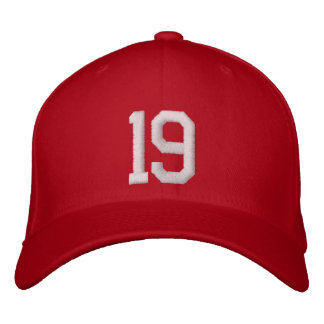 19 Nineteen Embroidered Hat