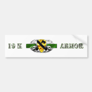 19K 1st Cavalry Division Bumper Stickers