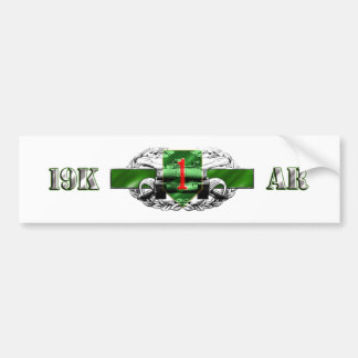 19K 1st Infantry Division Bumper Sticker