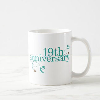 19th Anniversary Coffee Mug