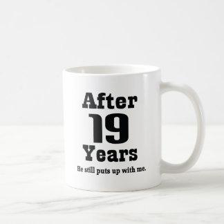 19th Anniversary (Funny) Coffee Mug