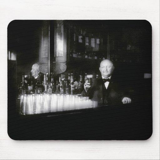 19th C. Bartender Mousepad