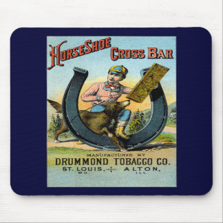 19th C. Horseshoe Cross Bar Chew Mouse Pads