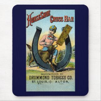 19th C. Horseshoe Cross Bar Chew Mouse Pad