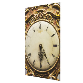 19th century clock face, Germany Canvas Print