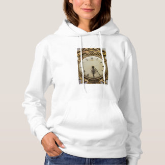 19th century clock face, Germany Hoodie