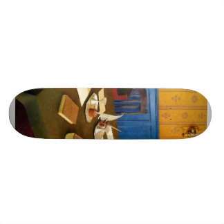 19th Century Lawyer's Office Custom Skate Board