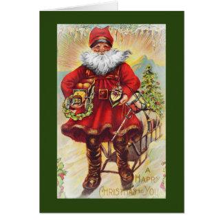19th Century Saint Nicholas Card