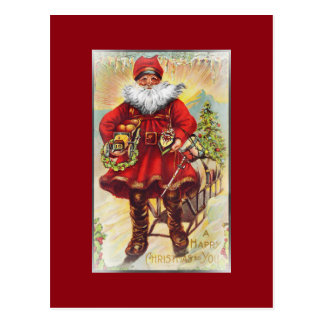 19th Century Saint Nicholas Postcard
