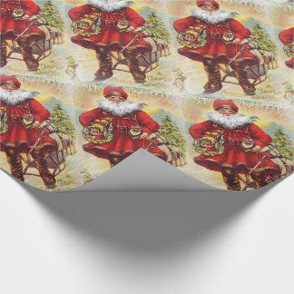 19th Century Saint Nicholas Wrapping Paper