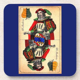 19th century tarot card no. 1 coaster
