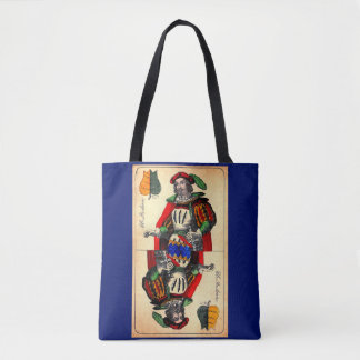 19th century tarot card no. 1 tote bag