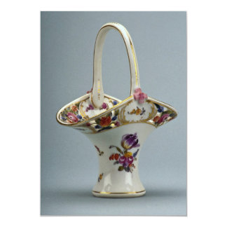 "19th century vase, Vienna, Austria 5"" X 7"" Invitation Card"