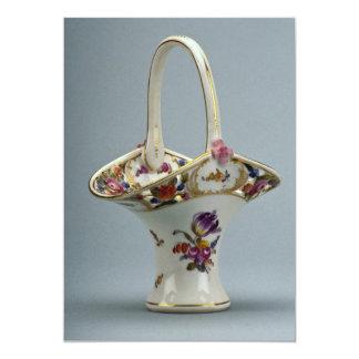 19th century vase, Vienna, Austria 13 Cm X 18 Cm Invitation Card