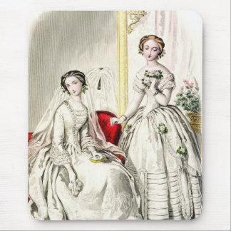 19th Century Wedding Mouse Pad
