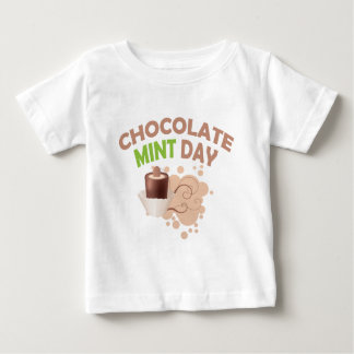 19th February - Chocolate Mint Day Baby T-Shirt