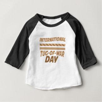 19th February - International Tug-of-War Day Baby T-Shirt