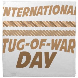 19th February - International Tug-of-War Day Napkin
