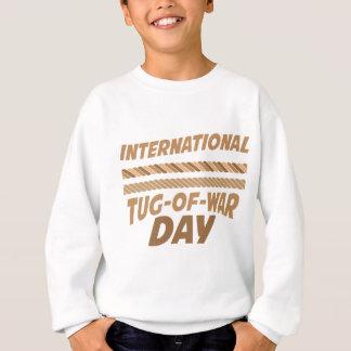 19th February - International Tug-of-War Day Sweatshirt