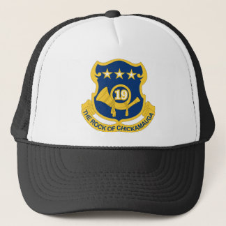 19th Infantry Regiment - The Rock Of Chickamauga Trucker Hat