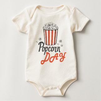 19th January - Popcorn Day - Appreciation Day Baby Bodysuit