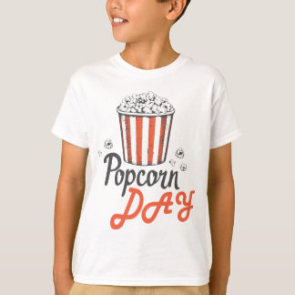 19th January - Popcorn Day - Appreciation Day T-Shirt