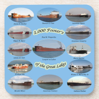 1,000 foot freighters on the Great Lakes coaster