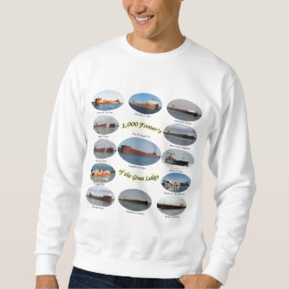1,000 footers on the Great Lakes sweatshirt