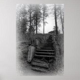 1,000 HAUNTED STEPS of SPOKANE Poster