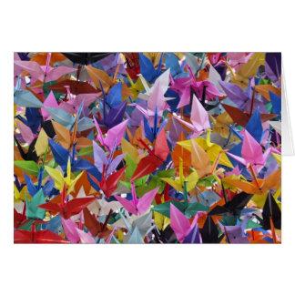 1,000 Origami Paper Cranes Photo Card