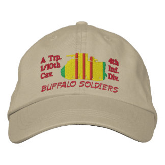 1/10th Cav.4th Inf. Div M113 Track Embroidered Hat